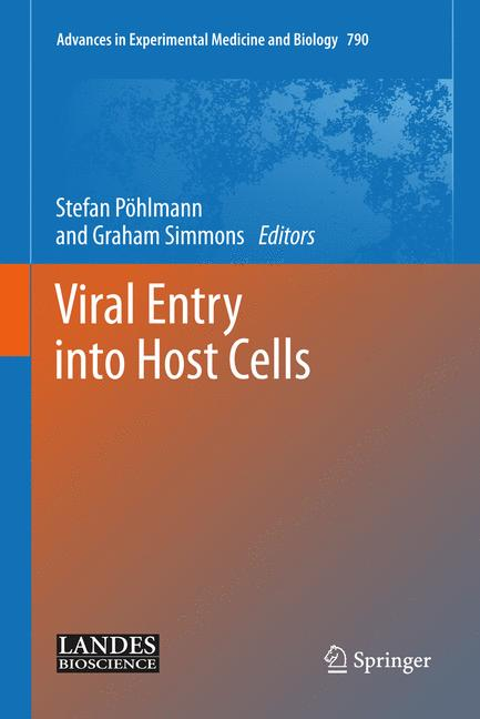Cover of 'Viral Entry into Host Cells'