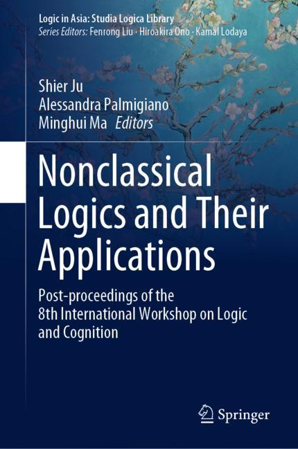 Cover of 'Nonclassical Logics and Their Applications'
