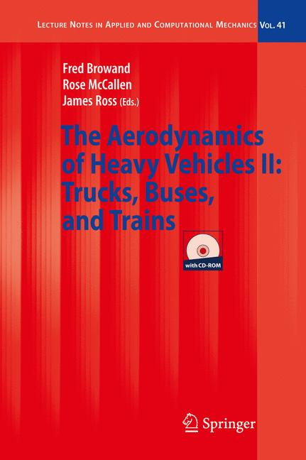 Cover of 'The Aerodynamics of Heavy Vehicles II: Trucks, Buses, and Trains'