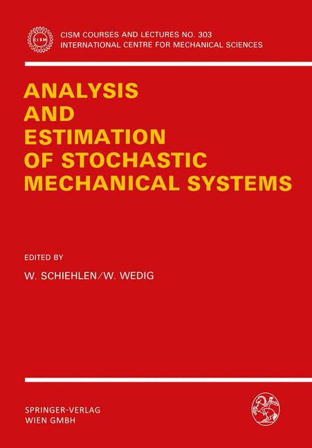 Cover of 'Analysis and Estimation of Stochastic Mechanical Systems'