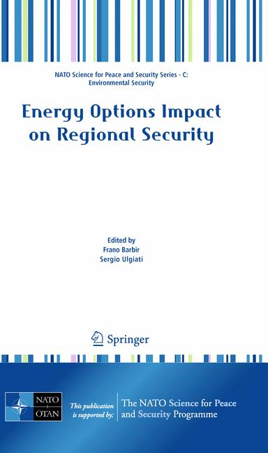 Cover of 'Energy Options Impact on Regional Security'