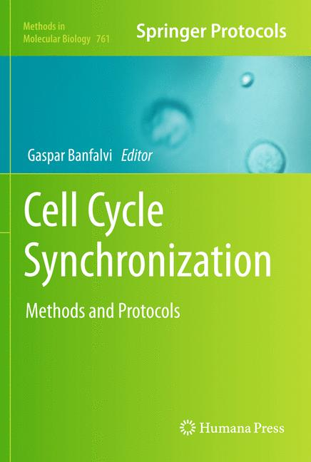 Cover of 'Cell Cycle Synchronization'