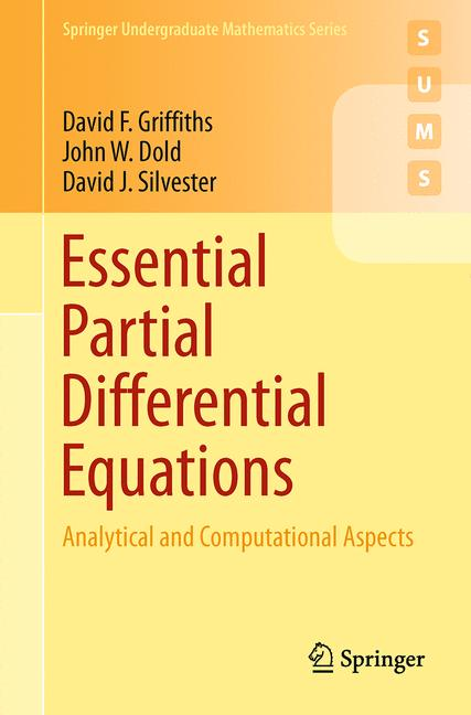 Cover of 'Essential Partial Differential Equations'