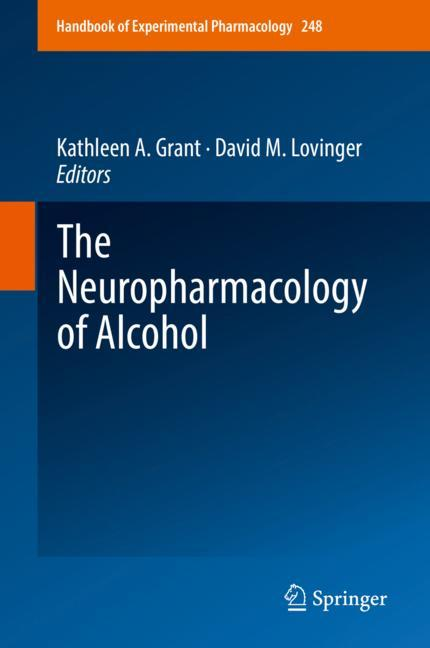 Cover of 'The Neuropharmacology of Alcohol'