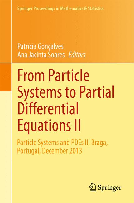 Cover of 'From Particle Systems to Partial Differential Equations II'