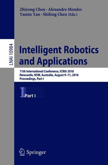 Cover of 'Intelligent Robotics and Applications'
