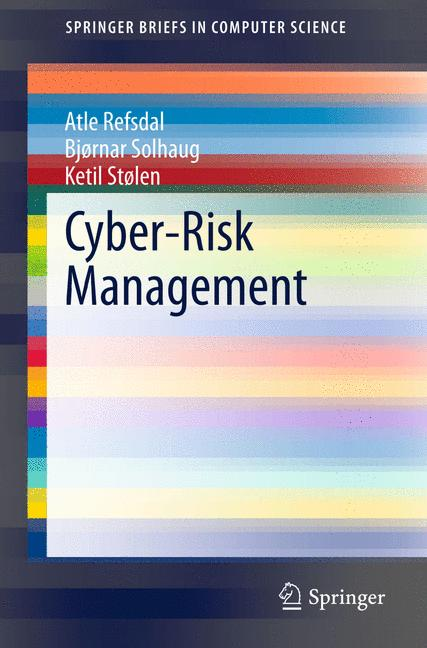 Cover of 'Cyber-Risk Management'
