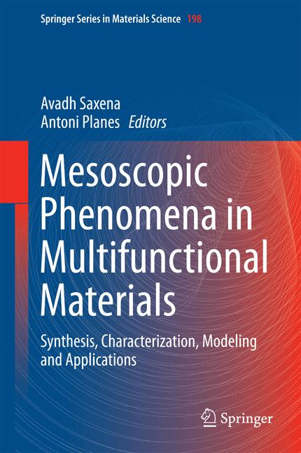 Cover of 'Mesoscopic Phenomena in Multifunctional Materials'