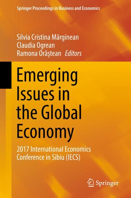 Cover of 'Emerging Issues in the Global Economy'