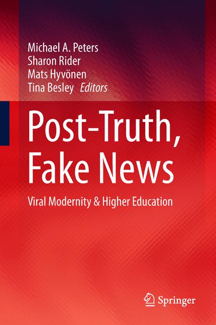 Cover of 'Post-Truth, Fake News'