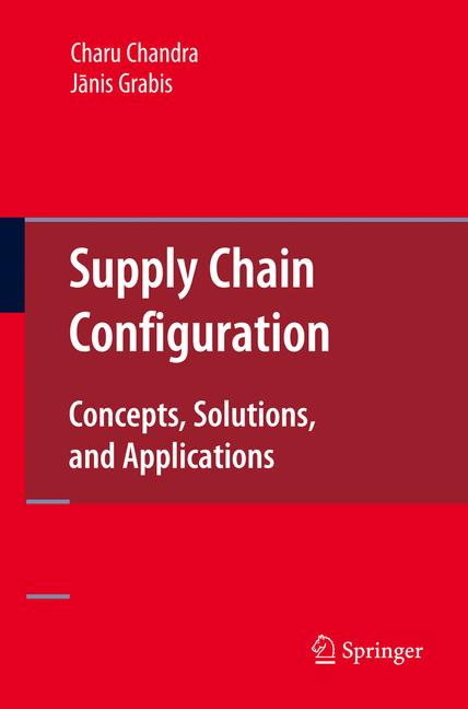 Cover of 'Supply Chain Configuration'
