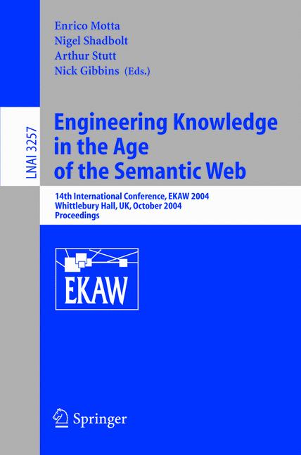 Cover of 'Engineering Knowledge in the Age of the Semantic Web'