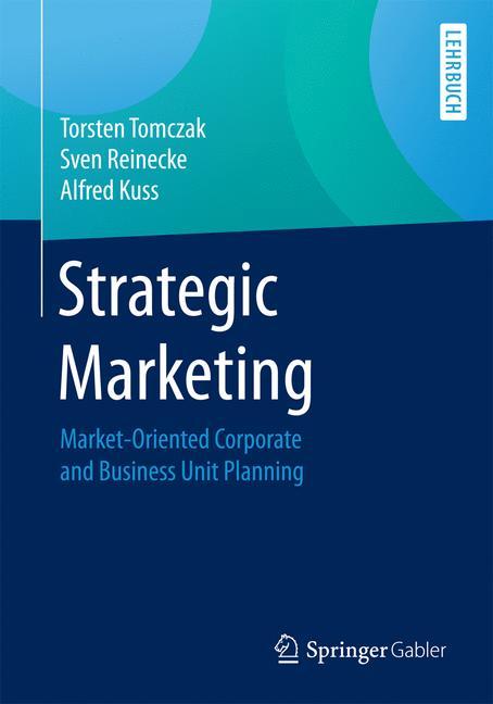 Cover of 'Strategic Marketing'