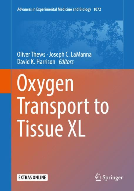 Cover of 'Oxygen Transport to Tissue XL'