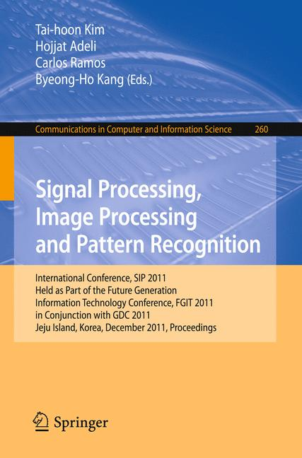 Cover of 'Signal Processing, Image Processing and Pattern Recognition'