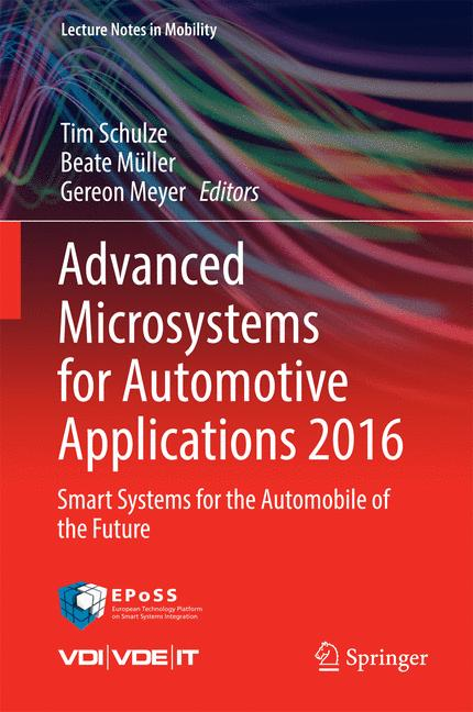 Cover of 'Advanced Microsystems for Automotive Applications 2016'