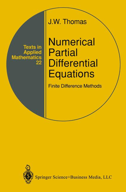 Cover of 'Numerical Partial Differential Equations: Finite Difference Methods'
