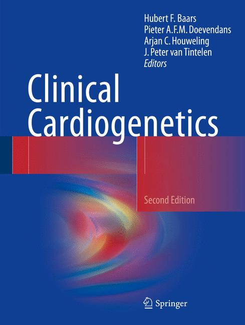 Cover of 'Clinical Cardiogenetics'