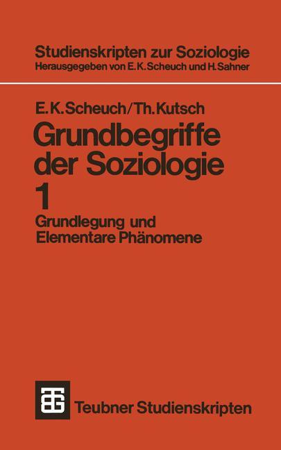 Cover of 'Grundbegriffe der Soziologie'