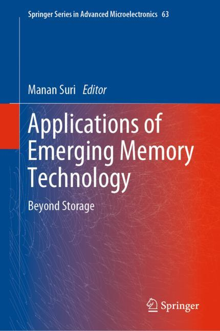 Cover of 'Applications of Emerging Memory Technology'