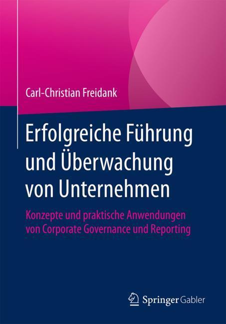 Cover of 'Erfolgreiche Führung und Überwachung von Unternehmen'