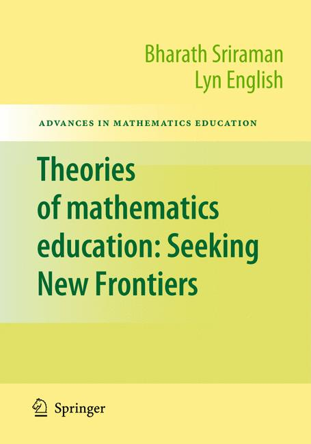 Cover of 'Theories of Mathematics Education'