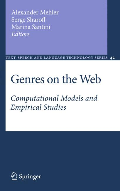 Cover of 'Genres on the Web'