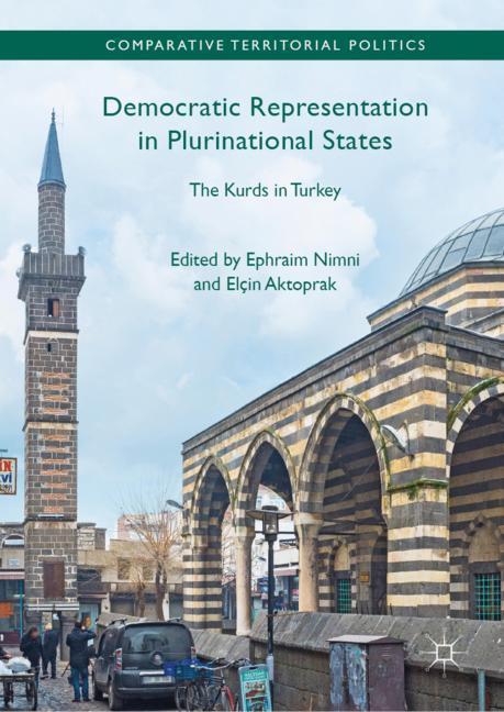 Cover of 'Democratic Representation in Plurinational States'