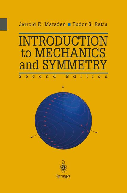 Cover of 'Introduction to Mechanics and Symmetry'