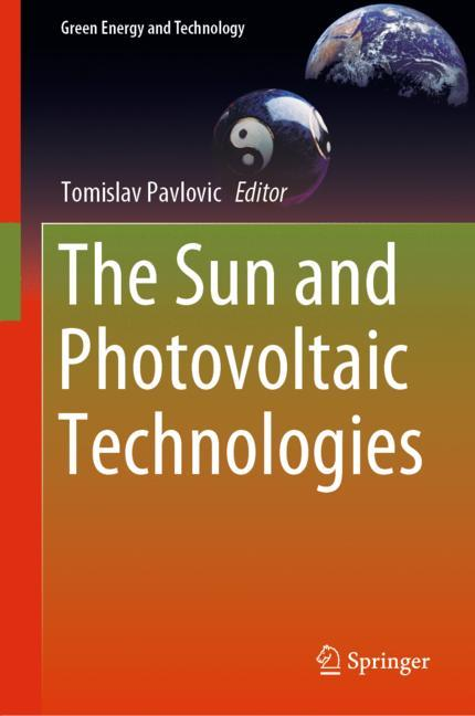 Cover of 'The Sun and Photovoltaic Technologies'