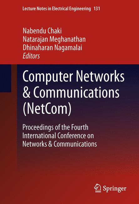 Cover of 'Computer Networks & Communications (NetCom)'