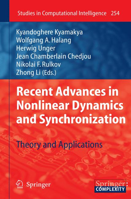 Cover of 'Recent Advances in Nonlinear Dynamics and Synchronization'