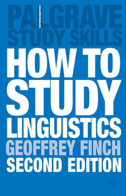 Cover of 'How to Study Linguistics'