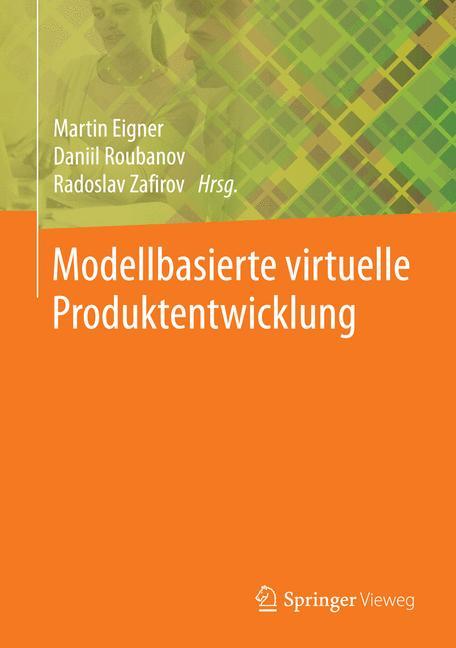 Cover of 'Modellbasierte virtuelle Produktentwicklung'