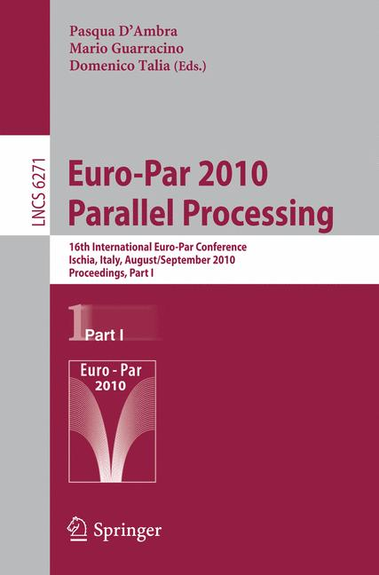 Cover of 'Euro-Par 2010 - Parallel Processing'