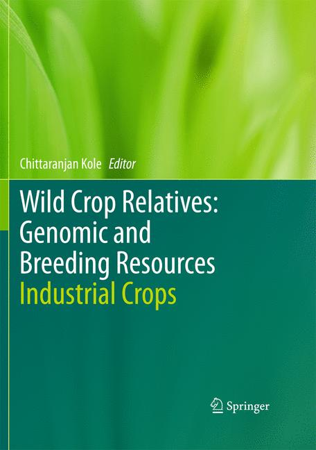 Cover of 'Wild Crop Relatives: Genomic and Breeding Resources'