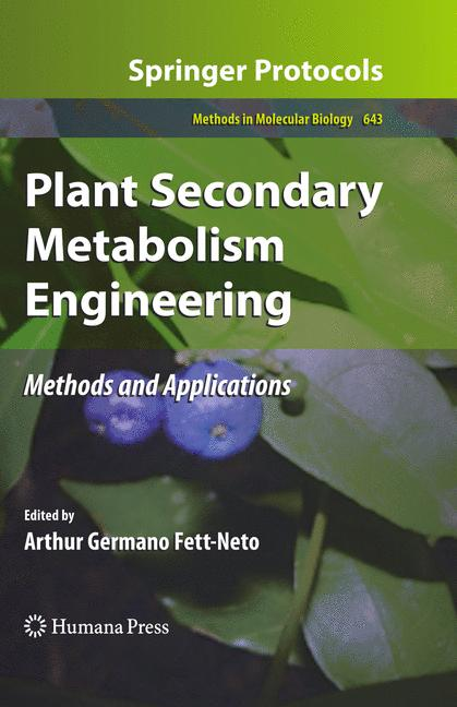 Cover of 'Plant Secondary Metabolism Engineering'
