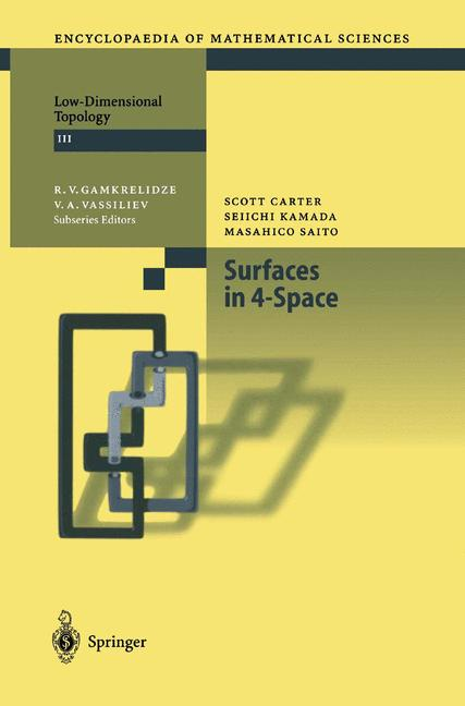 Cover of 'Surfaces in 4-Space'