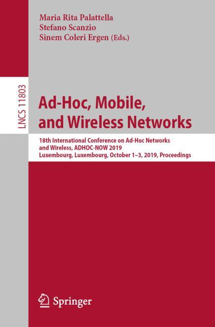 Cover of 'Ad-Hoc, Mobile, and Wireless Networks'