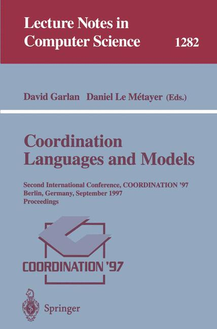 Cover of 'Coordination Languages and Models'