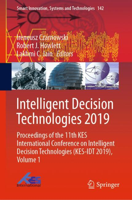 Cover of 'Intelligent Decision Technologies 2019'