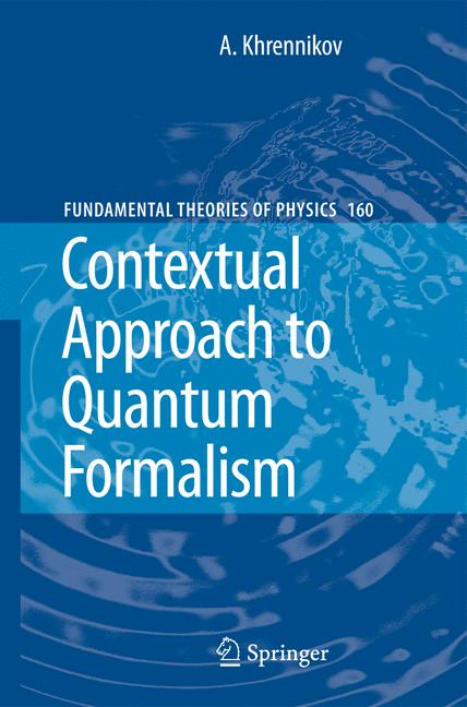 Cover of 'Contextual Approach to Quantum Formalism'
