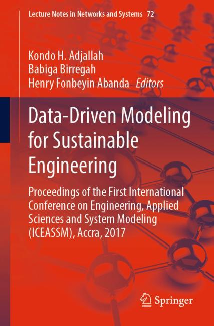 Cover of 'Data-Driven Modeling for Sustainable Engineering'