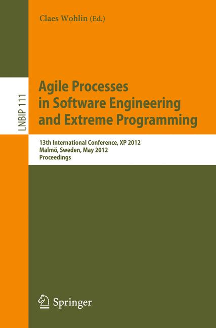 Cover of 'Agile Processes in Software Engineering and Extreme Programming'