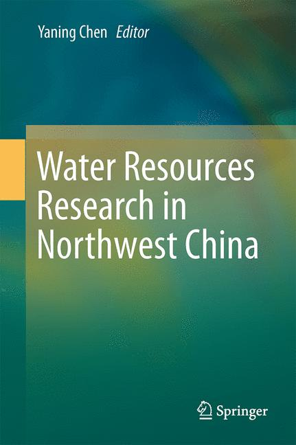Cover of 'Water Resources Research in Northwest China'