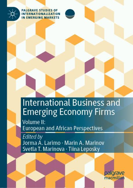 Cover of 'International Business and Emerging Economy Firms'