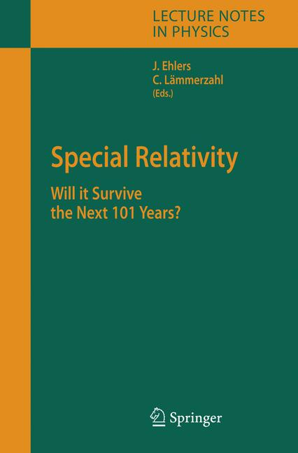 Cover of 'Special Relativity'