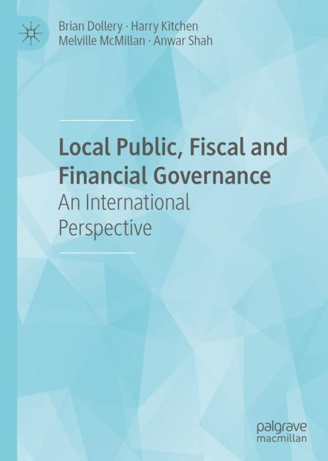 Cover of 'Local Public, Fiscal and Financial Governance'