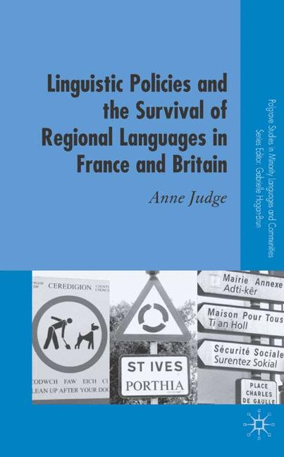 Cover of 'Linguistic Policies and the Survival of Regional Languages in France and Britain'