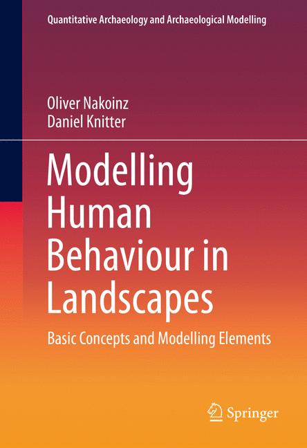 Cover of 'Modelling Human Behaviour in Landscapes'